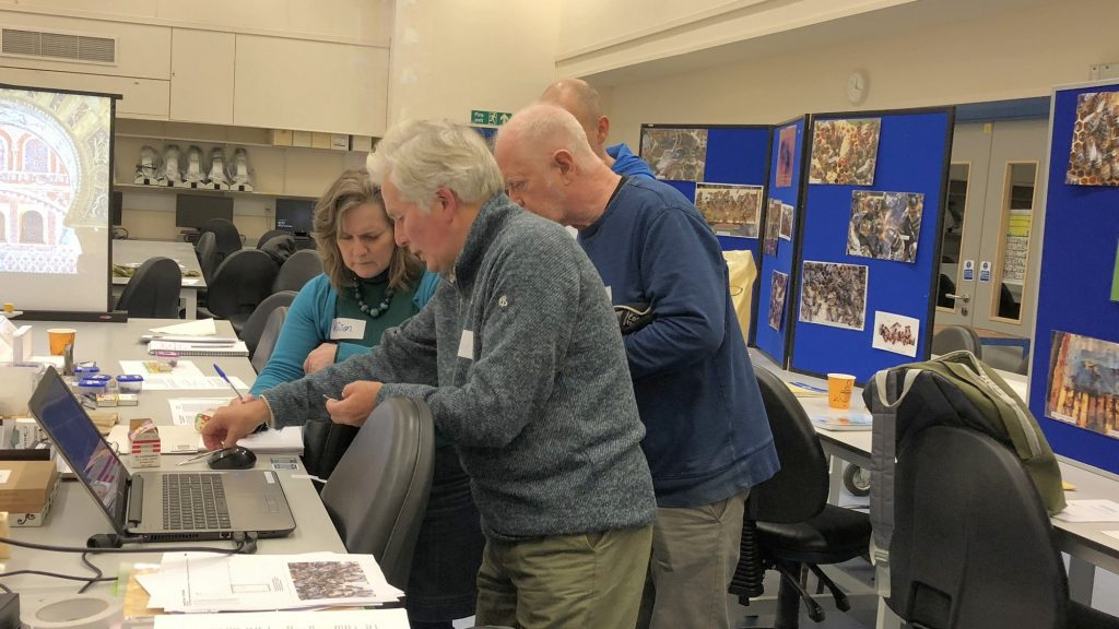 Identify those native bees – Winter workshop, 18 November 2017
